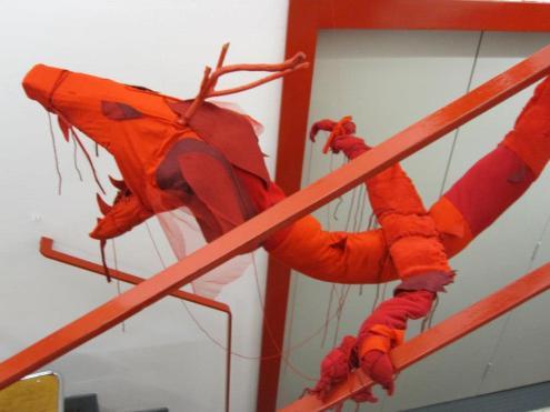 L'anno del Drago installazione presso Casa della Cultura, Milano 2013